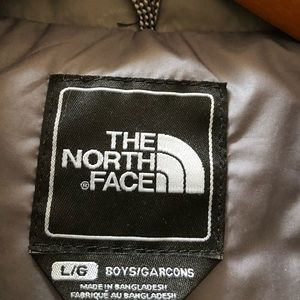 Boys North Face down jacket